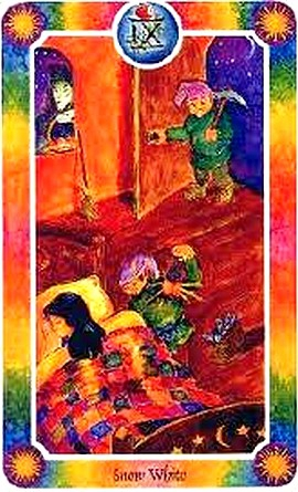 Inner child tarot   snow white